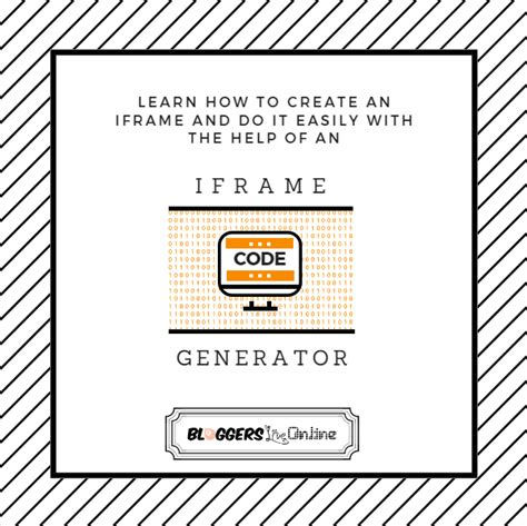 design html iframe how to create an iframe iframe generator bloggers live