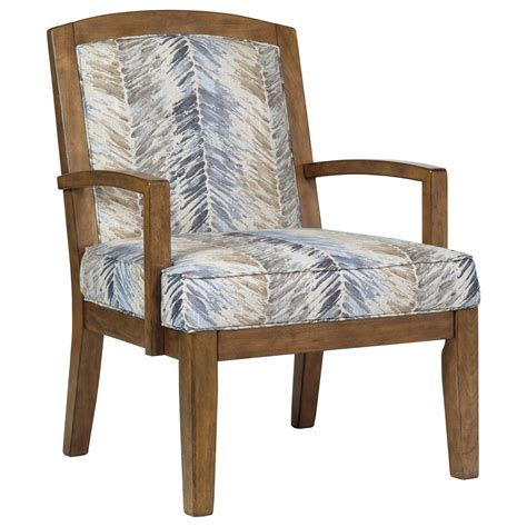 Wooden Accent Chair Benchcraft Hillsway 3410460 Contemporary Wood Frame Accent Chair Sol Furniture Exposed