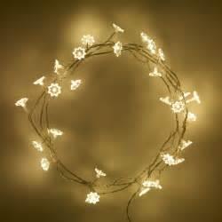 led flower string lights 240v low voltage 30 warm white flower petal led flowers
