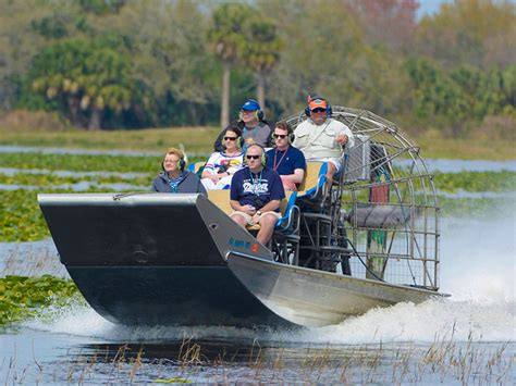 fan boat ride orlando kissimmee sw tours orlando kissimmee central