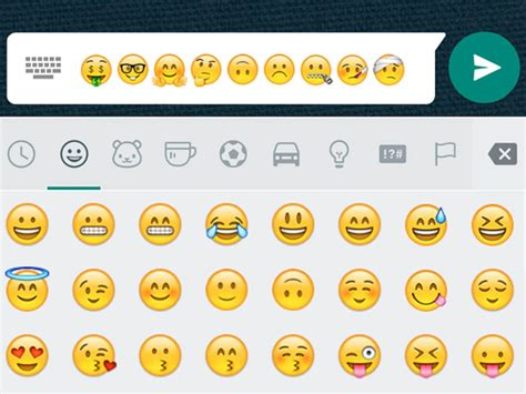 imagenes con emoji para whatsapp por fin llegan los nuevos emojis a whatsapp para android