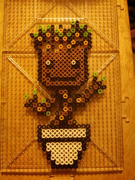 fuse bead perler bead anime patterns images