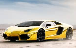 Gold Plated Lamborghini The Gold Plated Lamborghini Aventador S Golden