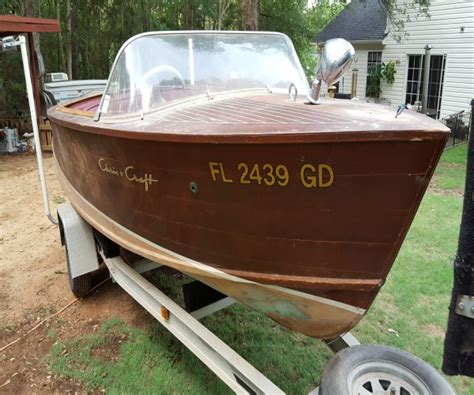 runabout boats for sale in sc 1957 17 foot chris craft runabout power boat for sale in