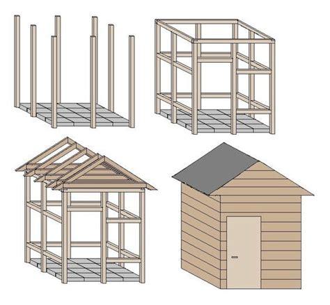 carport selber konstruieren die besten 17 ideen zu gartenhaus selber bauen auf