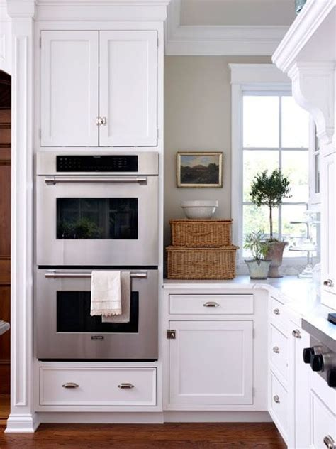 double oven kitchen cabinet 25 best ideas about double oven kitchen on pinterest