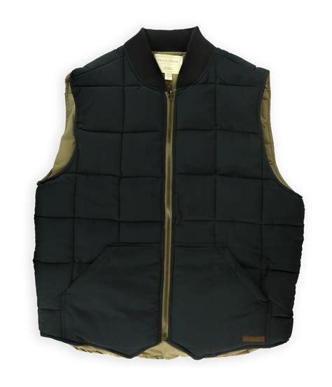 puffer vest field mens reversible puffer vest ebay