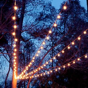 tiny outdoor string lights a canopy of string lights in our backyard gray house studio