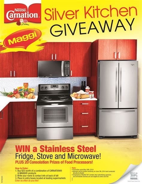 Kitchen Giveaway Contests - nestle silver kitchen giveaway jta supermarkets ltd c3 centre carlton centre