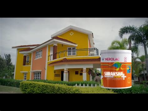 nerolac suraksha plus new tv ad everlasting wall paint colors