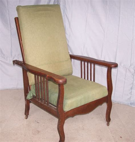 Antique Morris Recliner Chair by Antique Oak Morris Chair Recliner Ebay