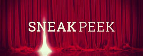 Sneak Peek by Sneak Peek Define Sneak Peek At Dictionary