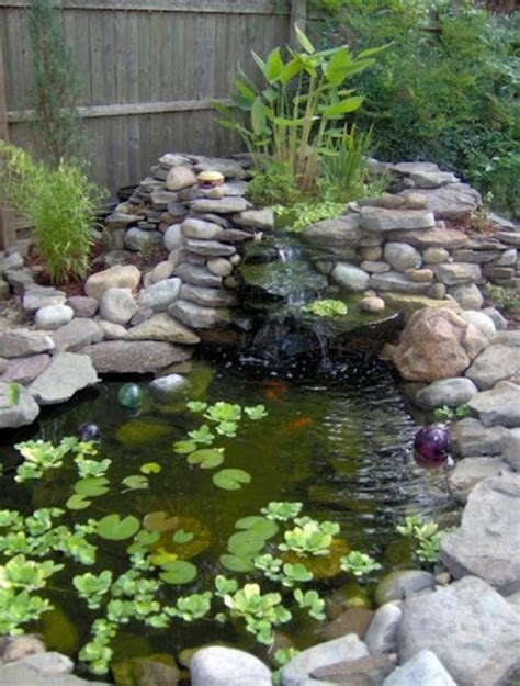 small backyard ponds and waterfalls 75 relaxing garden and backyard waterfalls digsdigs