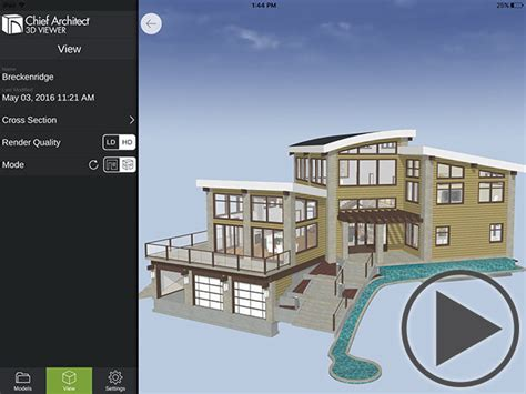 home design 3d ipad toit chief architect 3d viewer chief architect software