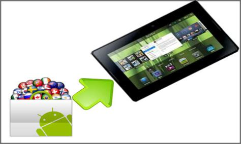 blackberry playbook android blackberry playbook 2 tablet pc android apps operating system tech news gizbot