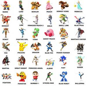 gallery gt mario characters pictures names