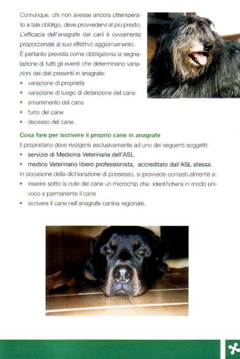 dati nazionale anagrafe canina anagrafe canina