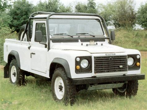 land rover pickup truck land rover defender 110 truck cab pick up 6 point bolt in