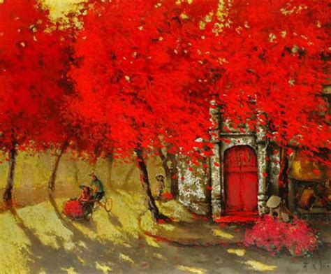 xuan doan original asian art summer noon