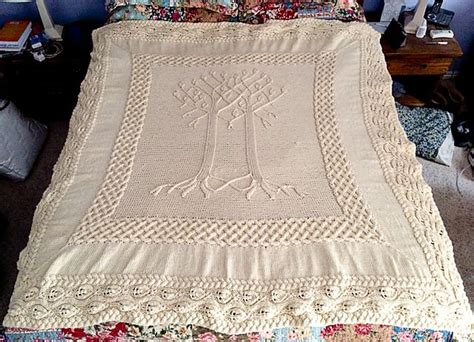 Knitted Wedding Gift Ideas by Ravelry Project Gallery For Yggdrasil Afghan Pattern By