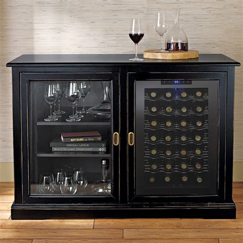 bar cabinet with wine refrigerator credenza style wine cabinets cabinets matttroy