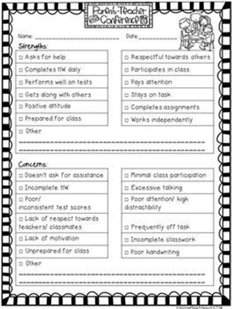 Parent Letter Book Report Free Editable Parent Conference Form Parent Communication Parent