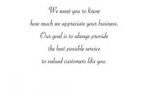 thank you for your business card messages quotes thank you for customers quotesgram