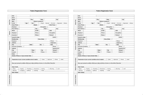 patient template image gallery hospital patient chart