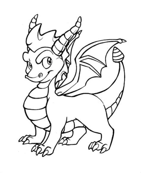 dragon drawing template 13 free pdf documents download