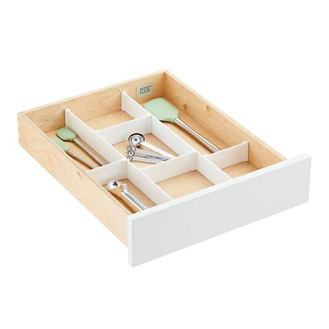 Drawer Holder by Custom Drawer Organizer Strips The Container Store