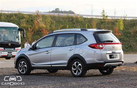 Honda Showcases Br V In Thailand Coming To India In Feb
