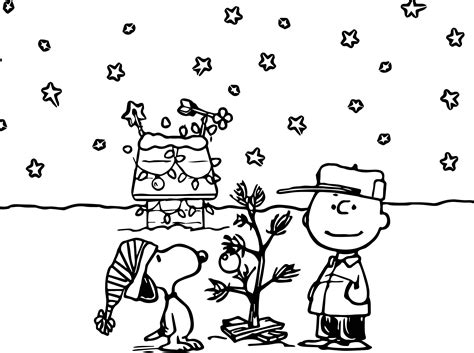 coloring pages snoopy christmas holidays charlie brown peanuts comics snoopy christmas