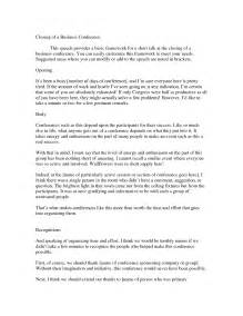 Closing Speech Sle clinic administrator cover letter