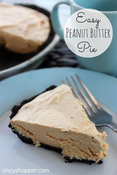 ez peanut butter pie