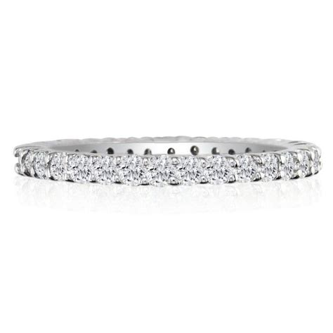 14k 5ct eternity band ring sizes 3 to 9 12