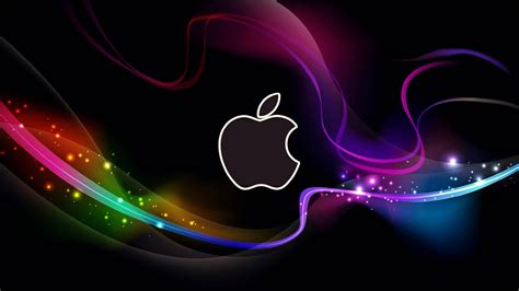 logo abstract wallpaper hd cool apple logo with abstract background wallpapers