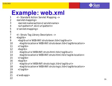 url pattern in web xml for struts2 step by step guide for building a simple struts application