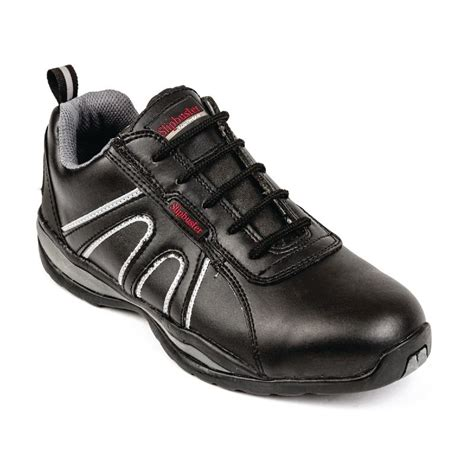 safety shoes comfortable slipbuster mens womens safety trainers lace up sports