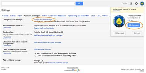 email uii setting dan daftar alias gmail it support