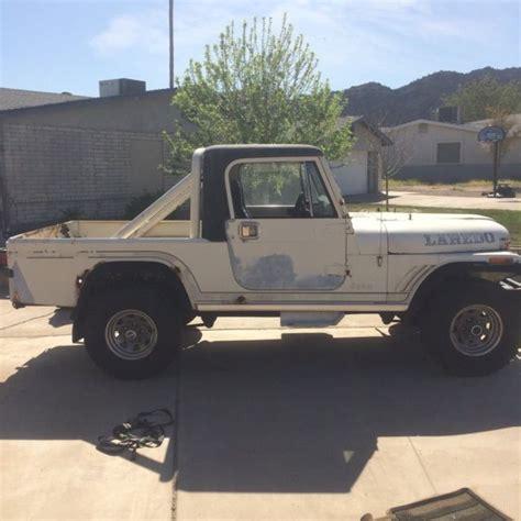 amc jeep scrambler 1985 amc jeep cj8 scrambler laredo