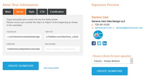 email layout generator email signature design tips step by step instructions