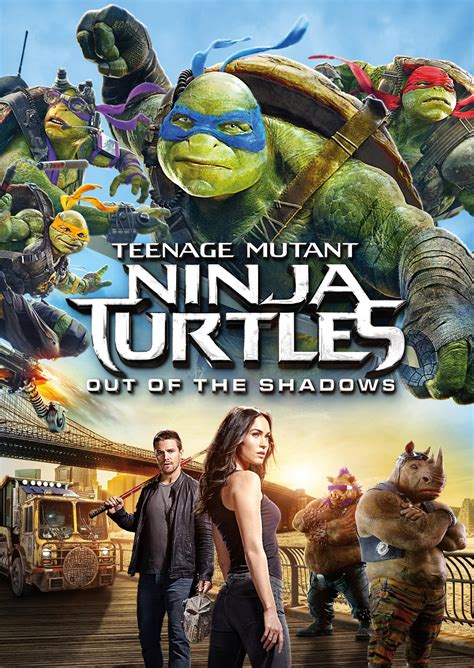 film ninja turtles 2 teenage mutant ninja turtles out of the shadows poster