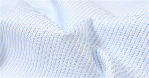 pattern shirt fabric canclini light blue dobby stripe shirts by proper cloth