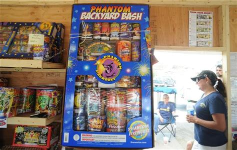 phantom backyard bash location key to fillmore s top fireworks booth sales