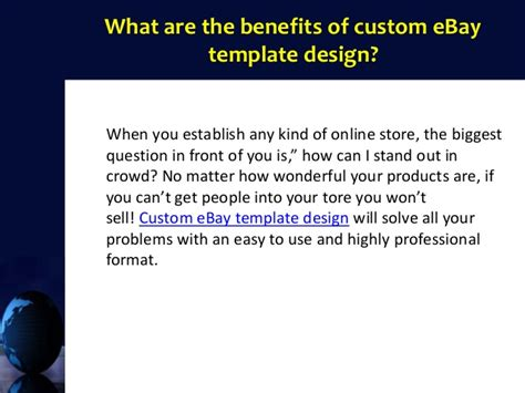 custom ebay template custom ebay template design burst your ebay sales