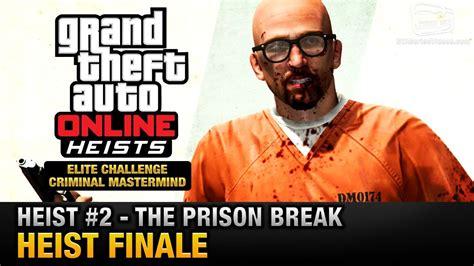 gta  heist   prison break heist finale