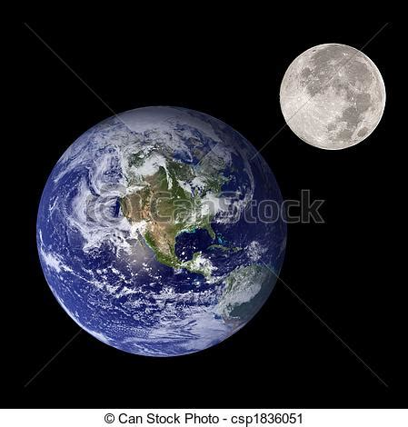 earth  moon clipart clipground