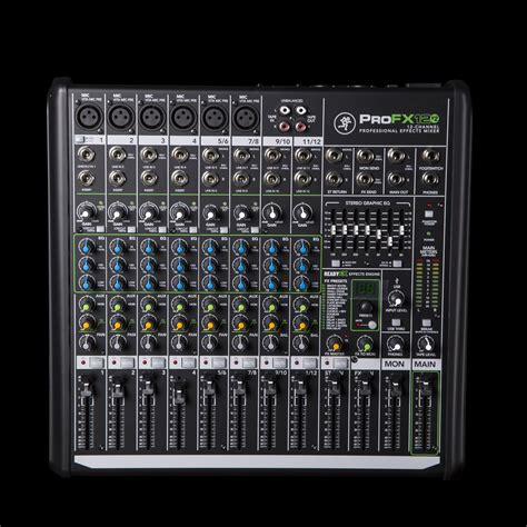 Mixer Mackie 6 Channel mackie profx12 v2 usb mixer with fx 12 channel ebay
