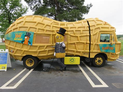 mr peanut will bring nutmobile to fort wayne to celebrate