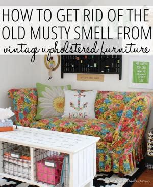 how to get smell out of couch how to get rid of musty smells out of your flea market finds